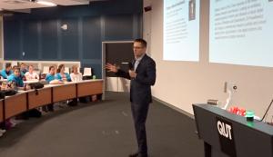 Keynote at STEM Camp Brisbane